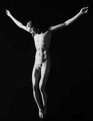Crucifix attributed to Michelangelo, by Aurelio Amendola