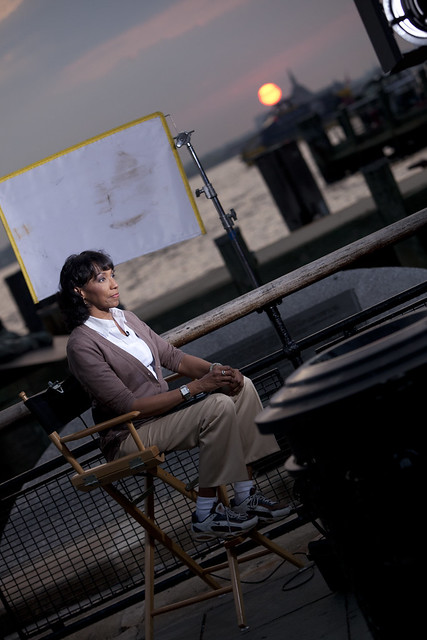NBC News team covers Hurricane Irene: Rehema Ellis