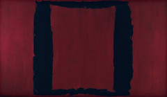 "Black on Maroon, Mural, Section 3 (1959), from ""The Seagram Murals,"" by Mark Rothko"