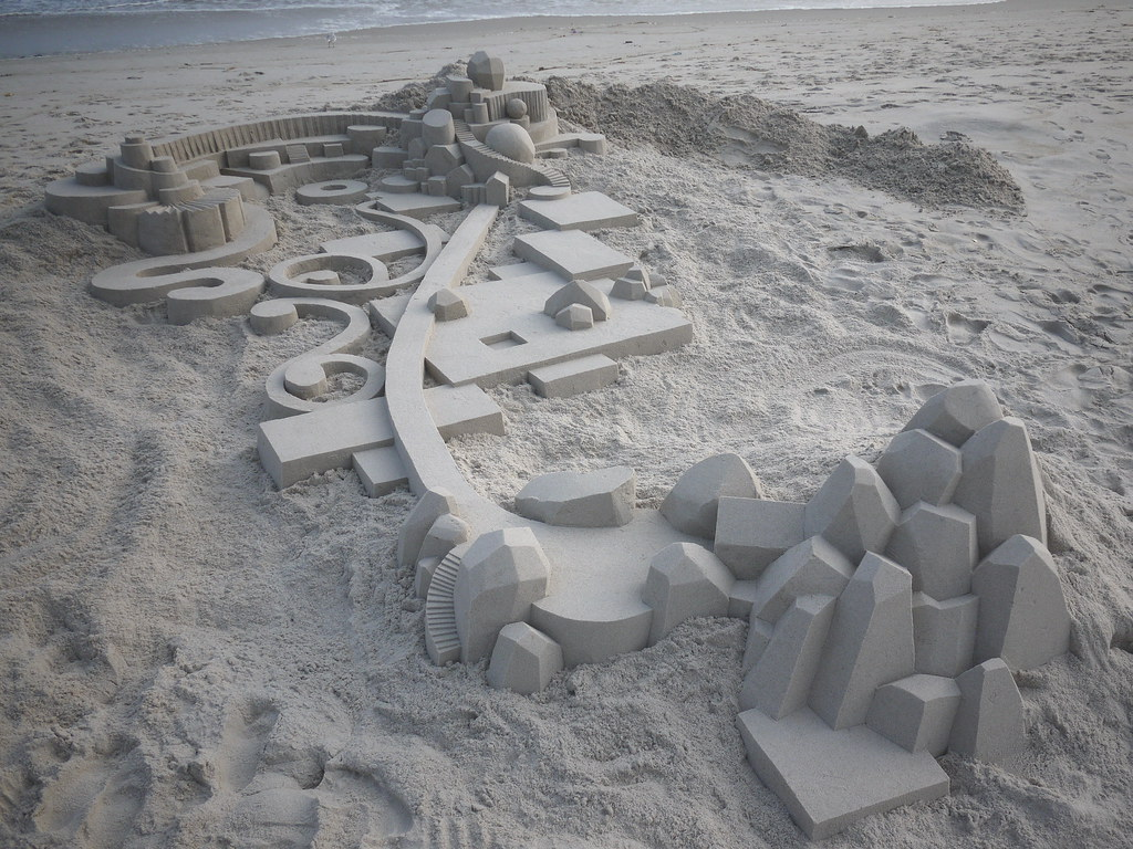 6114407627 cc72bf6b0e b Geometric Sand Sculptures by Calvin Seibert
