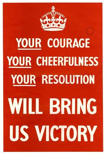 Courage, Cheerfulness, Resolution