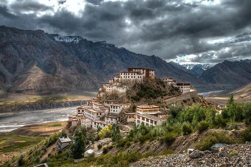 Ki Gompa  Spiti Valley. Himachal Pradesh