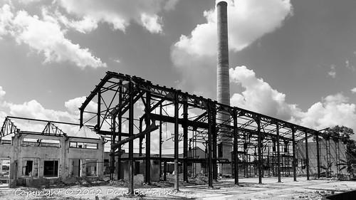 Derelict Australia Sugar Mill