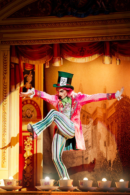 Steven McRae as the Mad Hatter in Alice's Adventures in Wonderland  © Johan Persson/ROH 2011