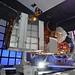Satellite in EMI chamber