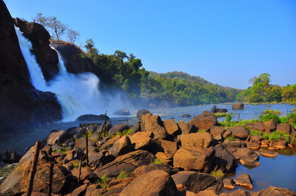Athirapally waterfalls, Kerala-India