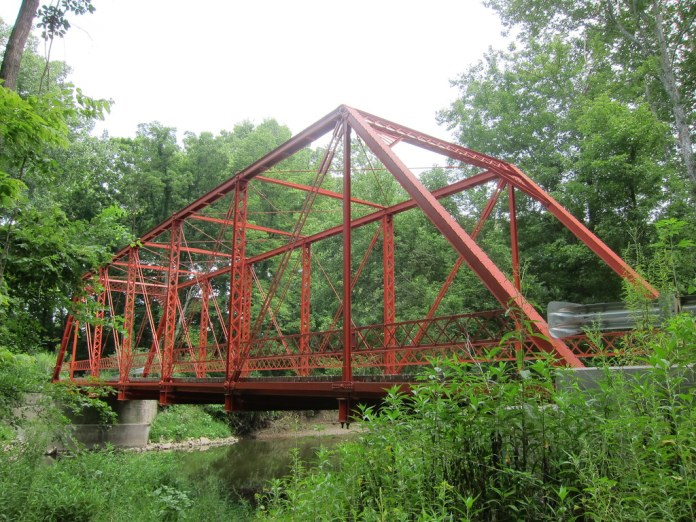 At the bridge on Holliday Road