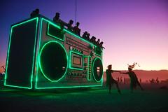 boombox art car