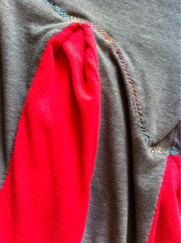 Red & Grey Flare III