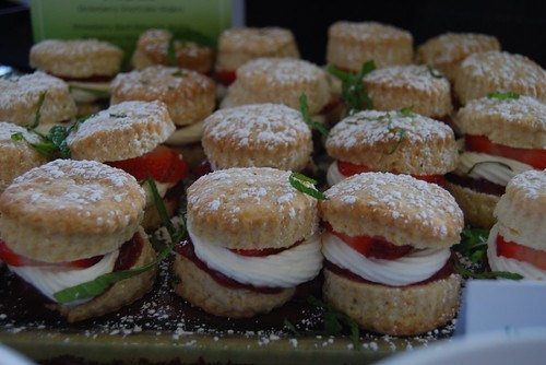 Strawberry Shortcake Sliders