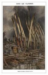 Dans les Flandres, 1918, by François Flameng