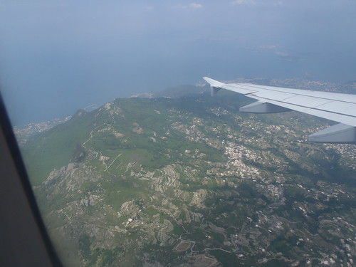 Isle of Capri from the Air