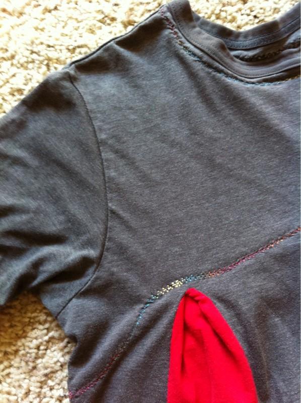 Red & Grey Flare II