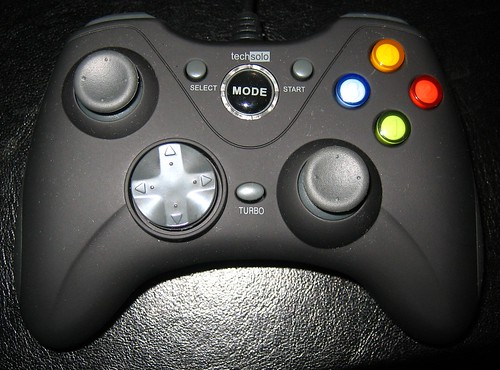 Techsolo TG-30 Gamepad (Linux-compatible, USB)