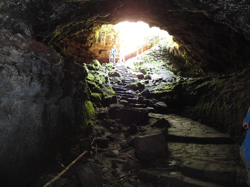 Cave entrance from inside