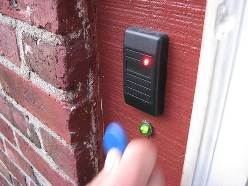 RFID entrance