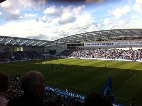 The Amex Stadium, Brighton