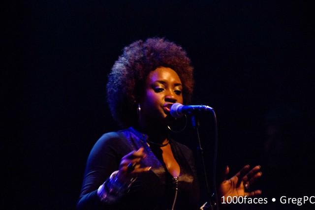 Face - woman singing
