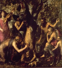 Flaying of Marsyas, 1576, by Titian