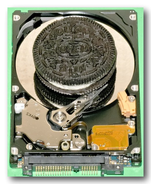 Hard Disk Cookie