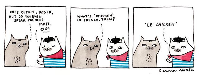 le chicken