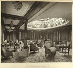 Lounge or music room, looking aft [Mauretania]