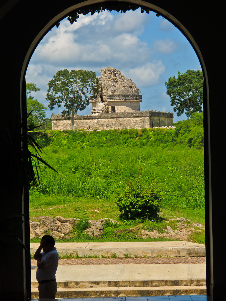 The Observatory, Chichen Itza, from the Mayaland Resort