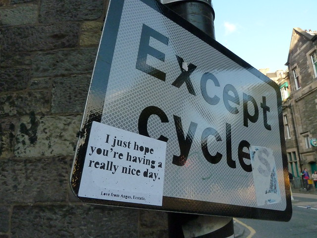 I just hope you're having a really nice day sticker in Edinburgh 14 August