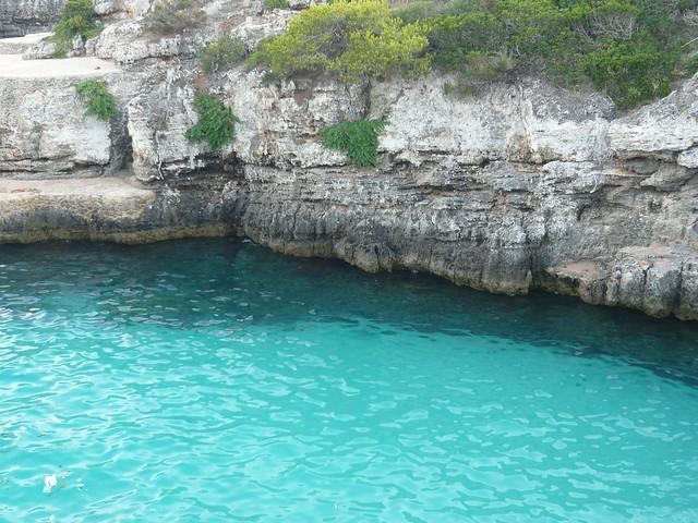 il mare di Cala En Brut - Minorca coi bambini