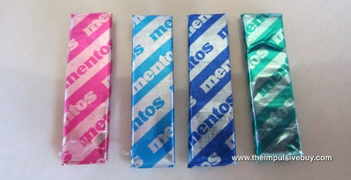 Mentos UP2U Gum (Sweet Mint/Bubble Fresh and Daylight Mint/Mintnight Mint) Pieces