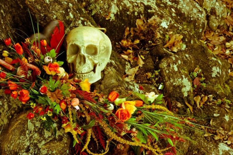 Zombie Bride Flowers