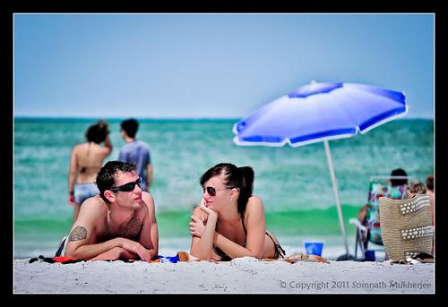 La vie c'est une plage by Somnath Mukherjee Photoghaphy