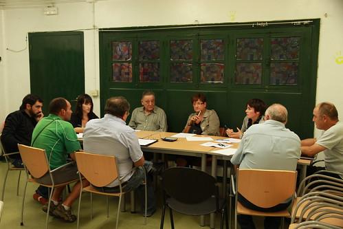 reunión con Nora Galparsoro (6 de octubre)
