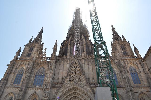 2011.07.25.155 - BARCELONA - Plaza de la Catedral - Catedral de la Santa Cruz y Santa Eulalia