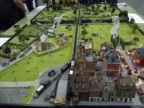 Impressive WW1 Wargame Demo at Salute 2012