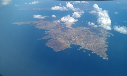Syros, Greece, aerial