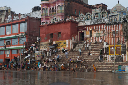 Kedar Ghat (I like to call it the Coney Island Ghat)