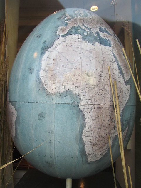 139 - The Egg Projection by Bellerby Globemakers