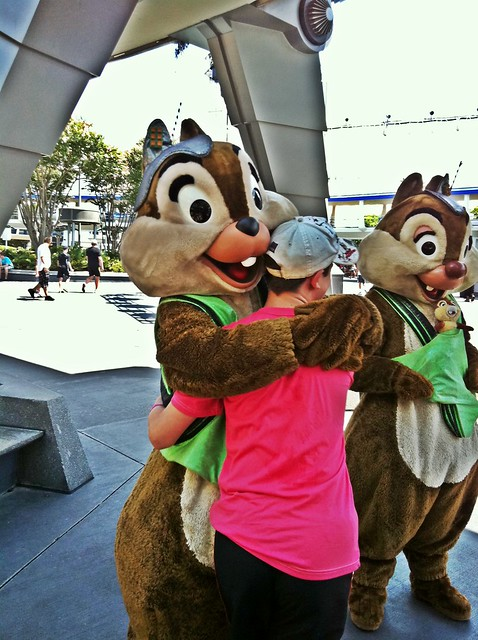 Chip 'n' Dale at Magic Kingdom