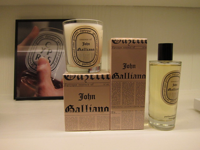 John Galliano x Diptyque