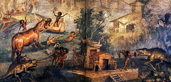Nile Landscape, Pompeii fresco