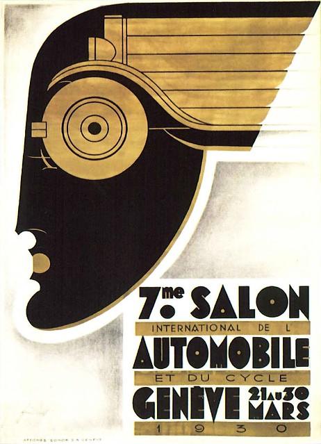 Noël Fontanet. Salon de Geneve. 1930