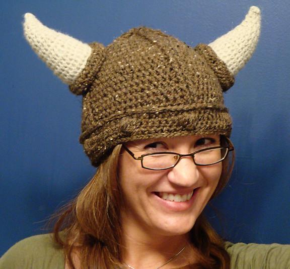 Jen Viking Hat #2