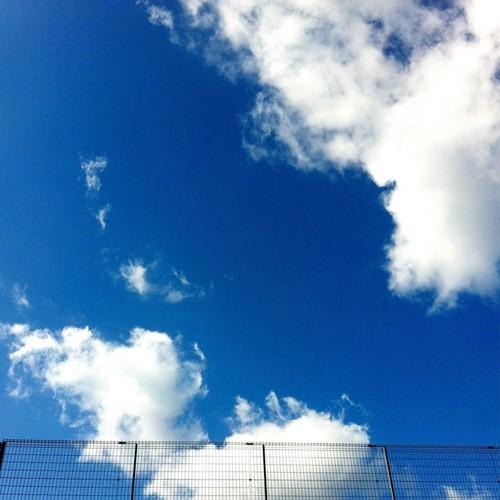天気のいい一日でした #cloud #sky #photogene2 #iphoneography #instagramer