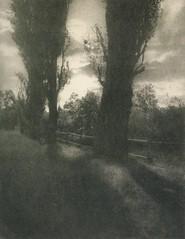 Mondlandschaft, 1910, by Ludwig Petschka