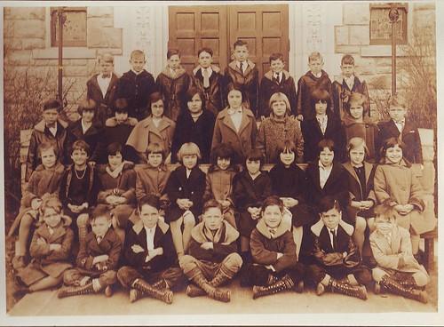 St. Elizabeth's Grade School-Year 1930-31; Kansas City, MO