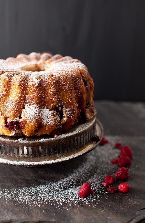 Raspberry Coffee Cake 5