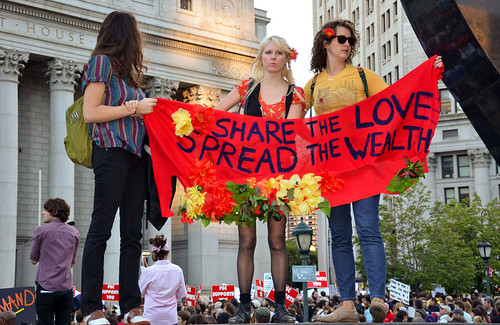 Share the Love, Spread the Wealth - Occupy Wall Street