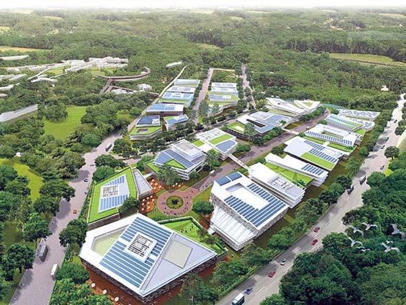 PTC, centro de eco business em Cingapura
