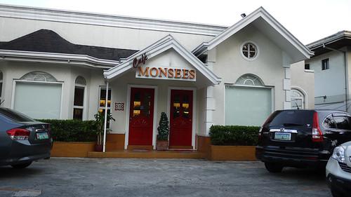Outside Monsee's